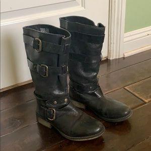 Steve Madden Brihanna - Slouchy Black Boot